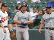 Blue Jays at Orioles September 1, 2011