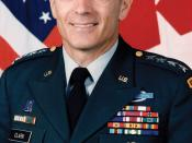 Military photo portrait of Wesley Clark, former U.S. general and presidential candidate.