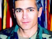 Wesley Clark as a brigadier general.