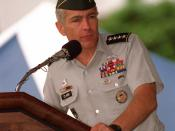 Wesley Clark taking command of USSOUTHCOM