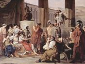 Ulysses at the court of Alcinous