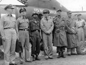 Paik in a 1951 armistice delegation