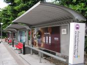 Chulalongkorn University bus stop