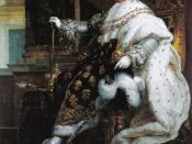 Portrait of Louis XVIII of France in Coronation Robes