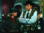 English: Cropped screenshot of Doris Day and Howard Keel from the trailer for the film Calamity Jane