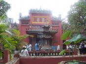 English: Scene of Jade Emperor Pagoda Ho Chi Min City