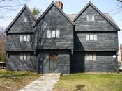 The Witch House, Salem, Massachusetts.