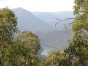Talbingo Dam is part of the vast Snowy Mountains Hydro-Electric Scheme