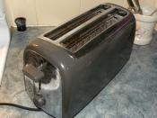 English: Electric bread toaster