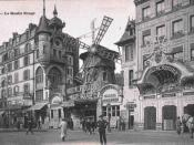 English: Moulin Rouge in 1900