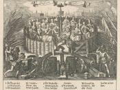 Allegory depicting the Pacification of Ghent by Adriaen Pietersz van de Venne