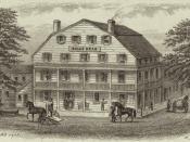 Bull's Head Hotel in New York City (1830)
