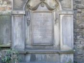 English: The grave of Adam Smith in Canongate Kirkyard, Edinburgh.