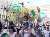 San Jose, California May Day March