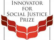 English: This is the logo for the Grinnell College Young Innovator for Social Justice Prize.