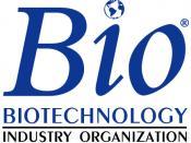 Logo of the Biotechnology Industry Organization.