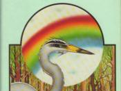An early cover of the novel The Eye of the Heron by Ursula K. Le Guin