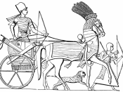 Egyptian Chariot, Char Egyptien