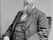 English: James Baird Weaver ( June 12, 1833 – February 6, 1912) was a United States politician and member of the United States House of Representatives, representing Iowa as a member of the Greenback Party. He ran for President two times on third pa