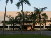 The front view of Nanotechnology center (2nd Floor) located the Outreach Building