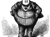 Boss Tweed, by Thomas Nast : Русский: