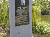 Albert Schweitzer Monument, Wagga Wagga.