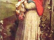 Red Riding Hood by George Frederic Watts