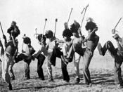 Mohobelo (Striding Dance)