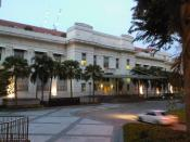 English: The Old Ministry of Labour Building in Outram, Singapore, which houses the Family Court and Juvenile Courts of Singapore.