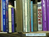 BOOKS ABOUT BOOKS