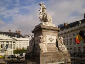 Monument, Martyrs' Square - Place des Martyrs - Martelaarsplaats 3