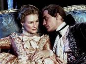 The Marquise de Merteuil (Glenn Close) and the Vicomte de Valmont (John Malkovich)