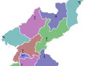 A Political Map of North Korea