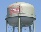 Crisfield, Maryland water tower