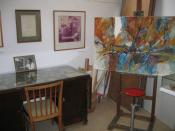 Marcel Janco studio at Ein Hod artist village