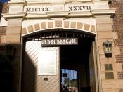 Old Dubbo Gaol - entrance