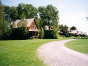 English: Description: Lost house in Val Jalbert City in Quebec Author: Juju (http://www.travels-book.net/utilisateurs/juju.html) WebSite: http://www.travels-book.net
