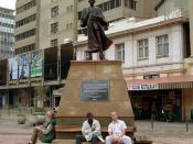 Johannesburg, Mahatma Ghandi szobra