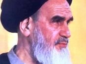 English: Ruhollah Khomeini فارسی: امام خمینی رهبر انقلاب اسلامی