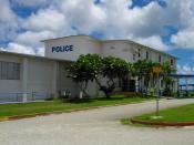 English: Guam Police Department Building 日本語: グアム警察本部