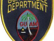 Guam Police patch
