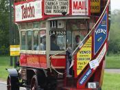 1911 LGOC B Type  London to Brighton Run, Sunday 7th May 2006