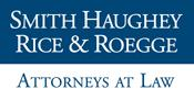 English: Corporate logo for the Smith Haughey Rice & Roegge law firm