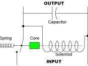 Circuit design for a simple electromechanical voltage regulator.