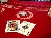 card game Blackjack