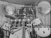 Sonny Greer, drummer for Duke Ellington. New York, New York.