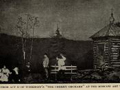 English: A Scene from Chekhov's Play