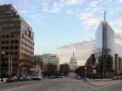 The NAR building and the U.S. Capitol in the background.
