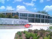 English: The Dow Academic Center on the campus of Brazosport College. The center was a joint effort between the college and The Dow Chemical Company.