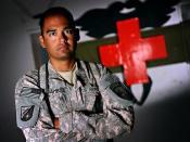 Army mentor trains Afghan medics